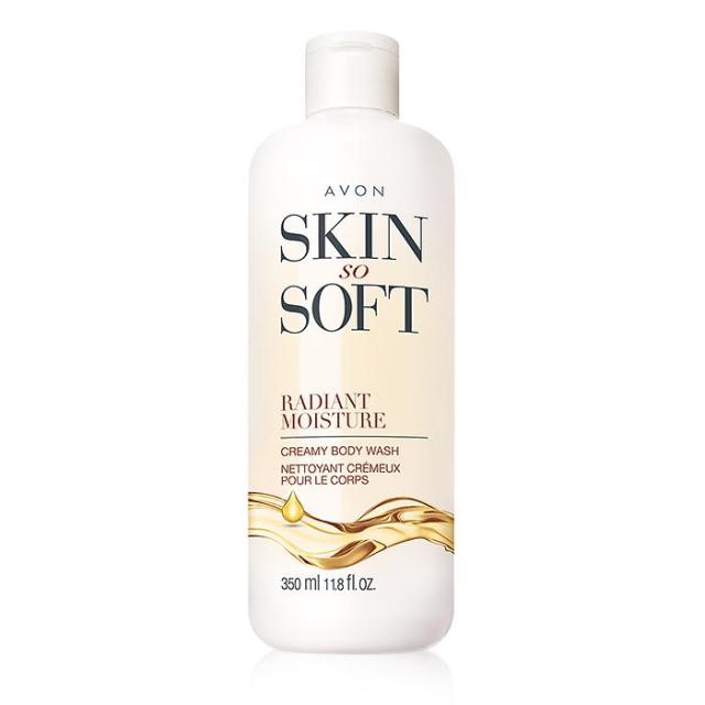 Skin So Soft Radiant Moisture Creamy Body Wash