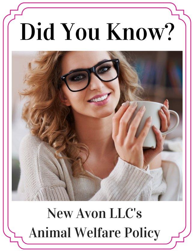 New AVON LLC's Animal Welfare Policy