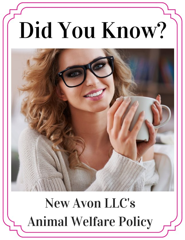 New AVON LLC's Animal Welfare Policy