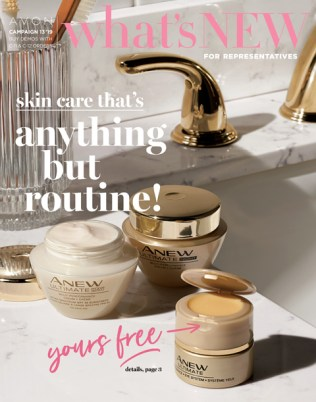 Avon What's New Demo Brochure
