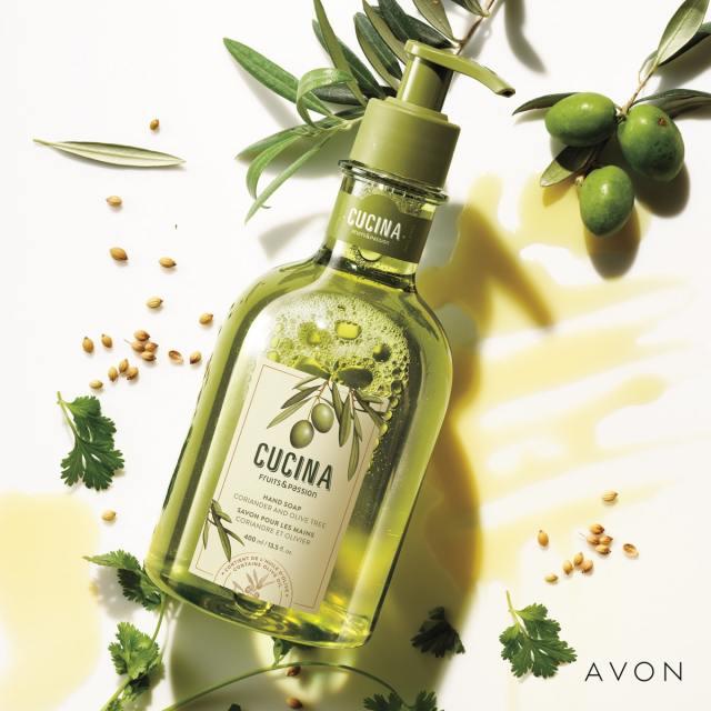 Avon Cucina Hand Soap
