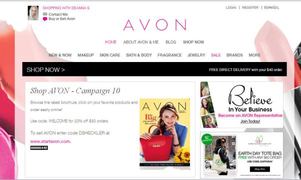 Get Free Avon Catalogs By Mail