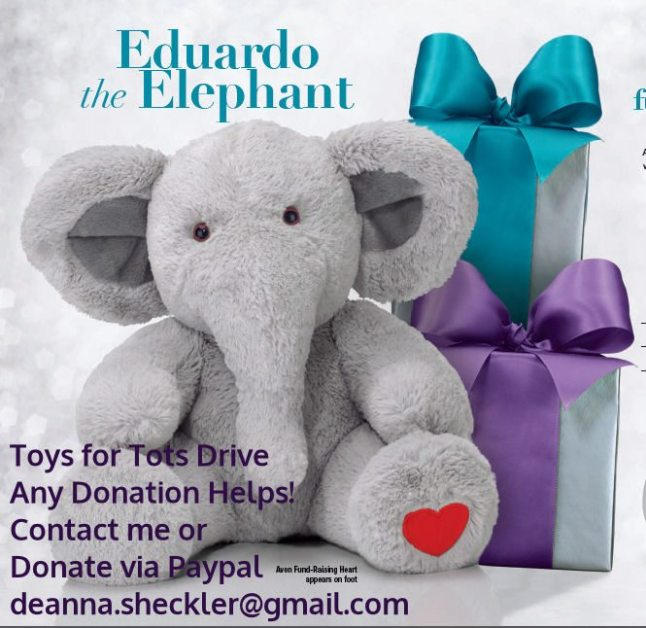 Eduardo Drive to benefit Toys for Tots