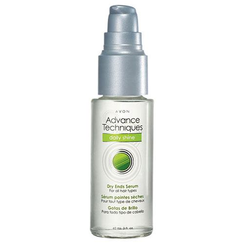 Avon S Advance Techniques Daily Shine Dry Ends Serum