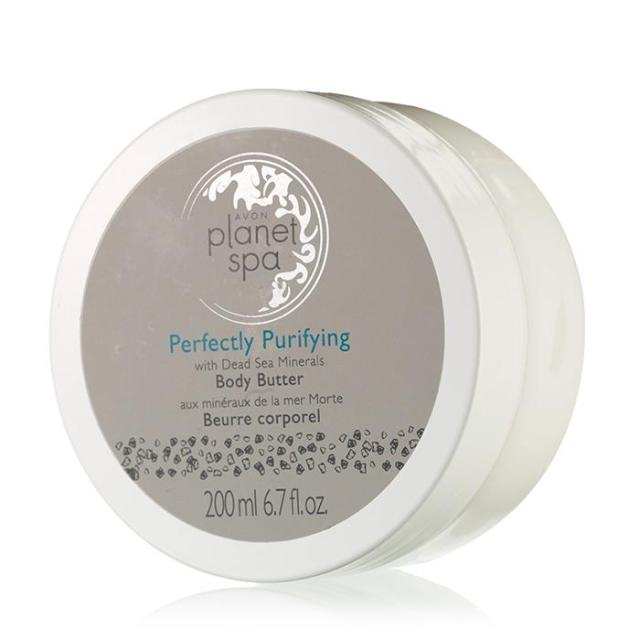 Avon's Planet Spa Perfectly Purifying with Dead Sea Minerals Body Butter