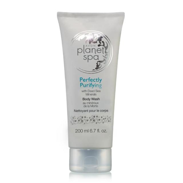Avon's Planet Spa Perfectly Purifying With Dead Sea Minerals Body Wash