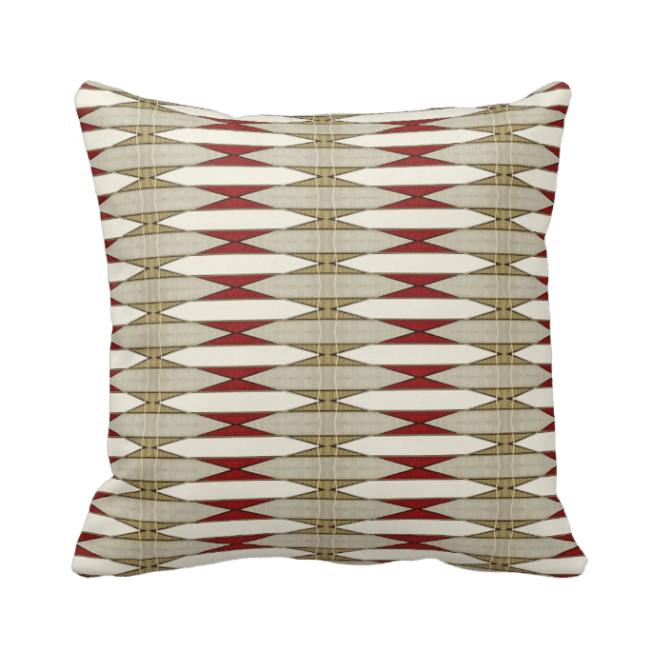 http://www.zazzle.com/red_and_beige_geometric_throw_pillow-189229990298507487