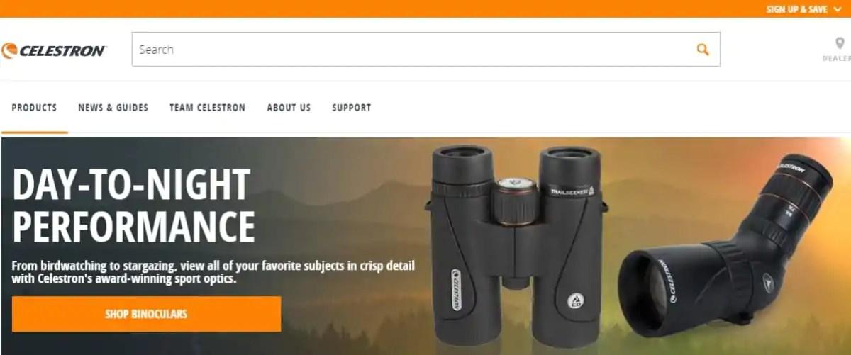 celestron binoculars shop