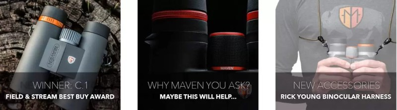 maven made in america binoculars