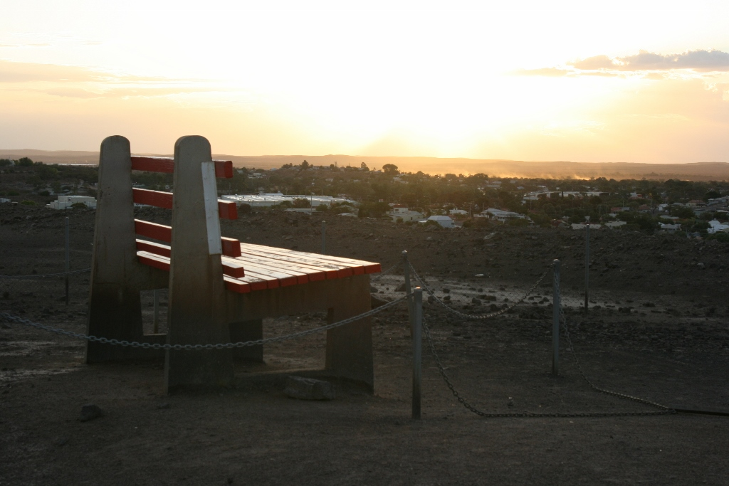 The Big Bench of Broken Hill