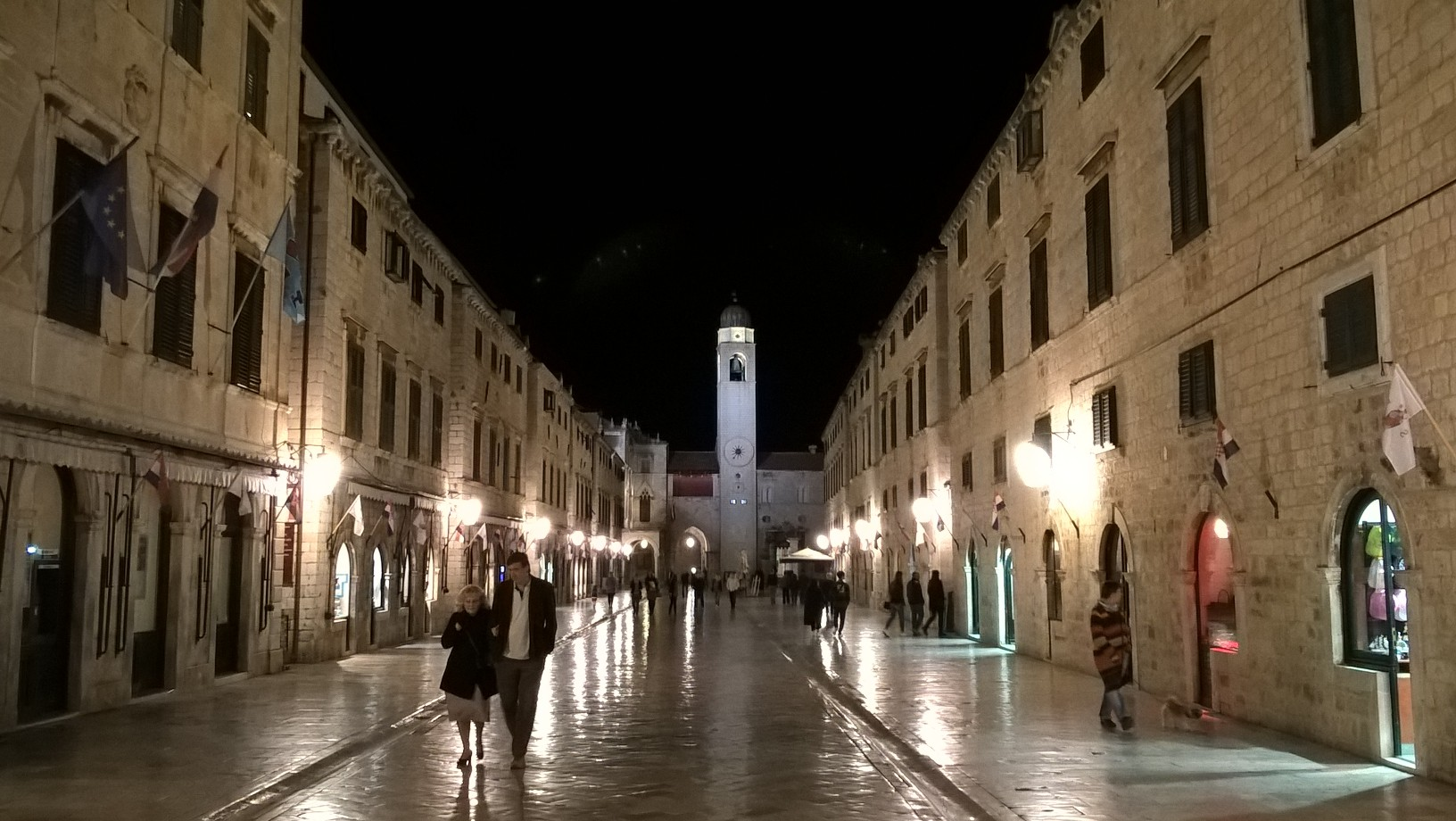 Snapshots of Europe: Dubrovnik by Night