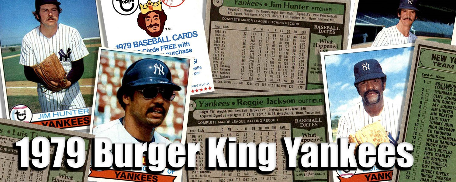 A place to post bugs you've noticed regarding th. Buy 1979 Topps Burger King Yankees Baseball Cards Sell 1979 Topps Burger King Yankees Baseball Cards Dean S Cards