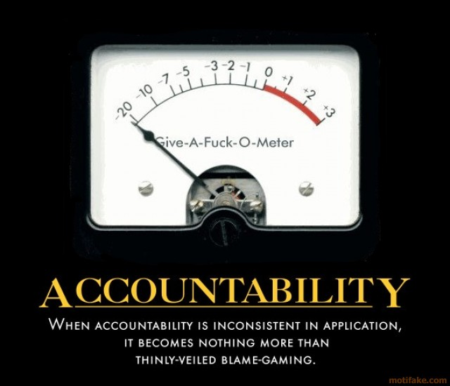 Accountability Quotes Unique Funny Accountability Quotes For Employees