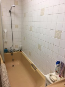 Windermere Before - bath with high risk of slipping