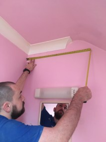 Measuring up for a new bathroom