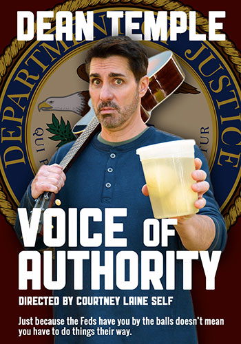 Voice of Authority written and performed by Dean Temple