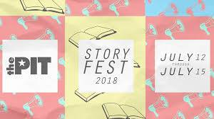 Voice of Authority invited to StoryFest 2018
