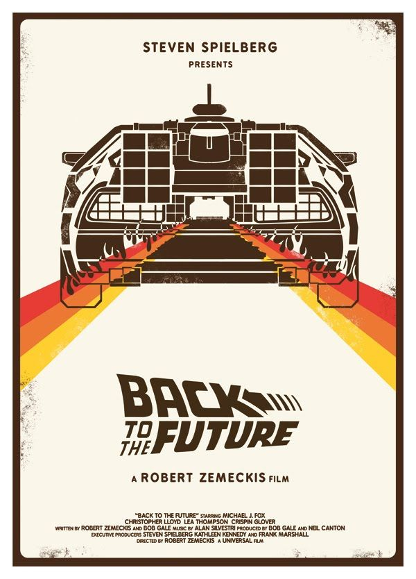 best film posters back to the future