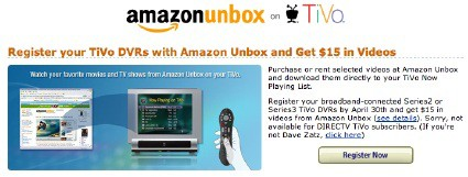 Tivo and Amazon