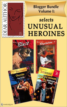 Blogger Bundle I Cover Full of Unusual Heroines