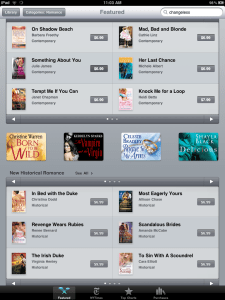 ibook romance books