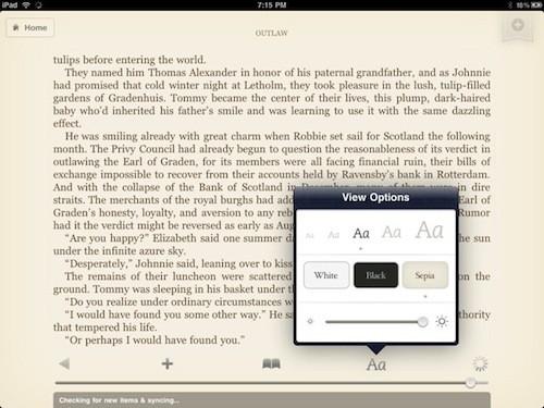 Kindle internal