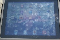 iPad outside