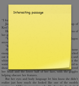 iBook notes