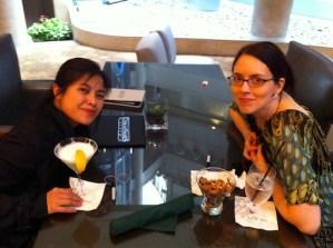 Jeannie Lin and Amanda Berry