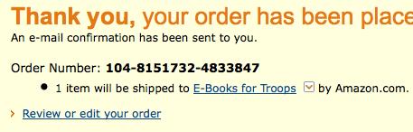 Amazon receipt
