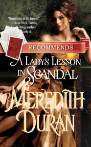 A Lady's Less in Scandal by Meredith Duran