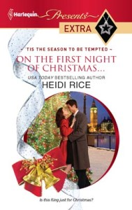 On the First Night of Christmas…  by Heidi Rice