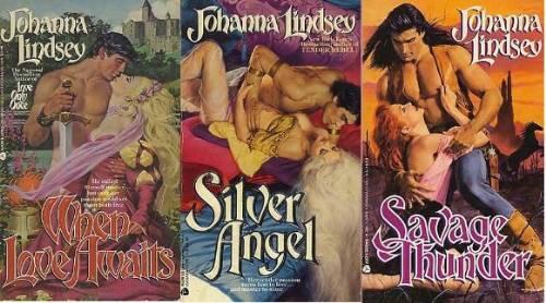 Johanna Lindsey covers