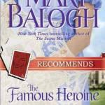 Famous Heroine Plumed Bonnet Mary Balogh