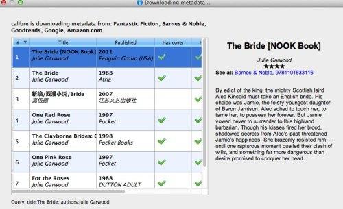 BN metadata option