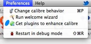 Preferences Get plugins calibre