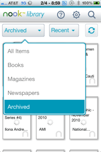 nook archive