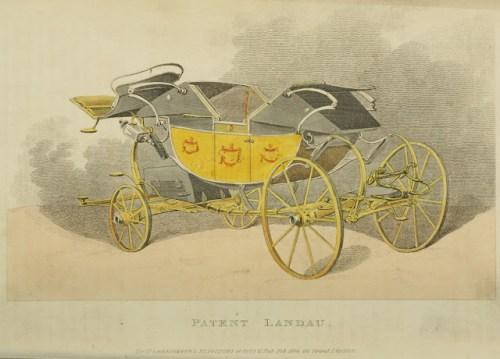 1809 Patent Landau - Ackermann's Repository