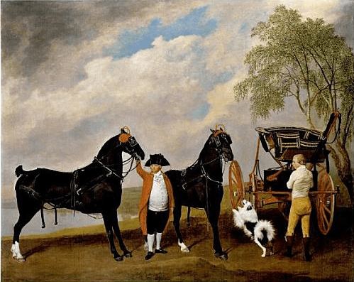 George Stubbs, High Flyer Phaeton