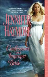 Confessions of an Improper Bride Jennifer Haymore