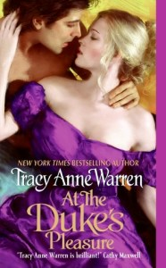 At the Duke's Pleasure (The Byrons of Braebourne #3) by Tracy Anne Warren
