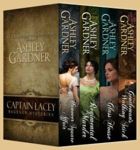 Ashley Gardner, Jennifer Ashley Captain Lacey Regency Mysteries