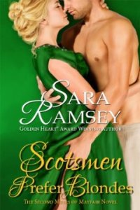 Scotsmen Prefer Blondes (Muses of Mayfair) by Sara Ramsey