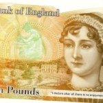 Jane Austen Bank Note