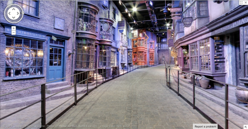 Diagon Alley at Warner Bros