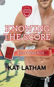 Knowing the Score by Kat Latham, recommended by Jayne
