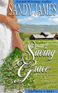 Saving Grace (Safe Havens #1) by Sandy James
