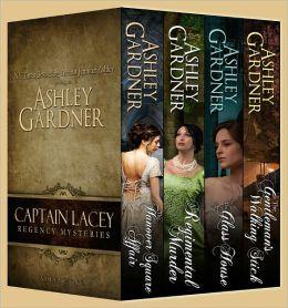Captain Lacey Regency Mysteries Book Bundle  Ashley Gardner, Jennifer Ashley