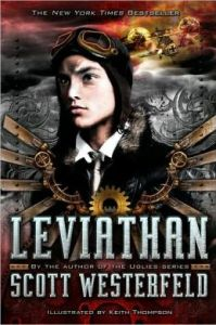Leviathan (Leviathan Series #1) by Scott Westerfeld, Keith Thompson (Illustrator)