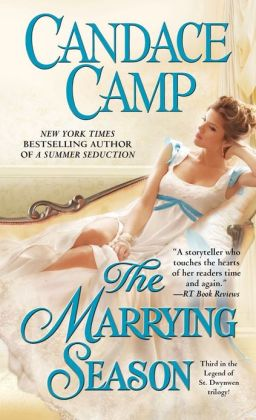 The Marrying Season (Legend of St. Dwynwen Trilogy)  by Candace Camp